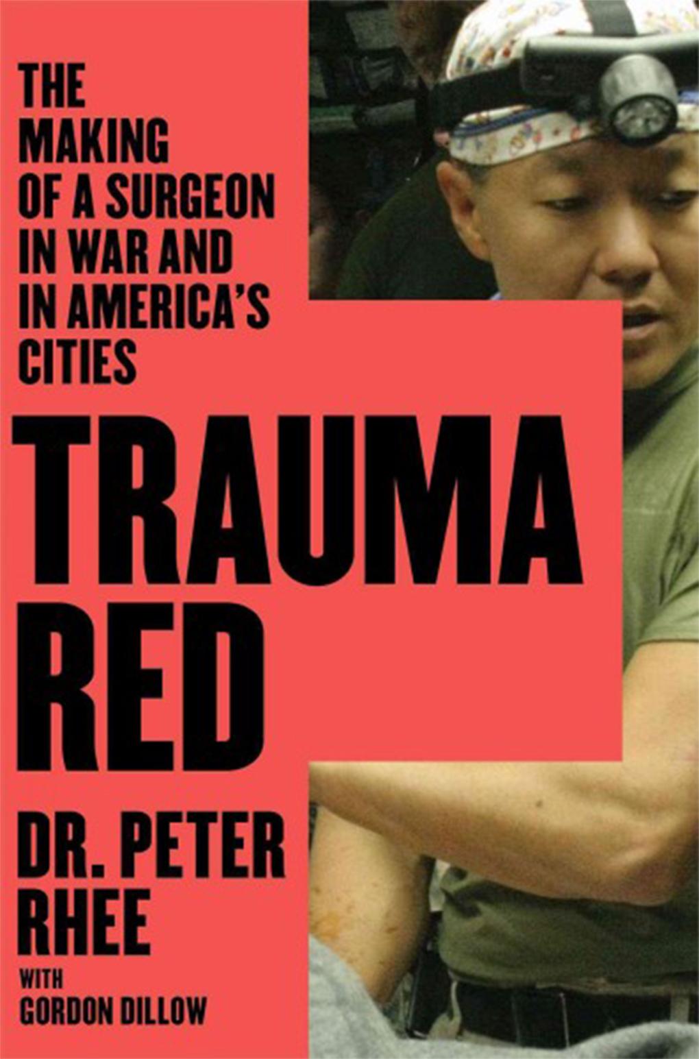 book cover trauma red