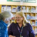 Library Nurse Mary Frances