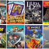 Collage of graphic novels from Tumble Book Library