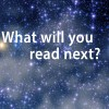 what will you read next on a starry background