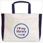 I Heart My Library bag